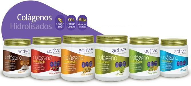 Imagem ilustrativa da linha de produtos Active