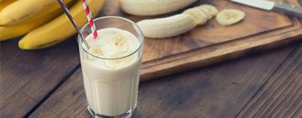 Foto da receita Shake de Banana com Colágeno