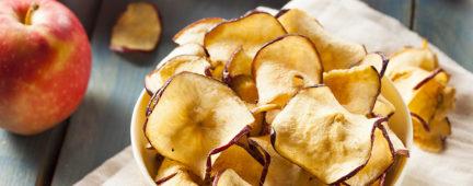 Foto da receita Chips crocante de Maça